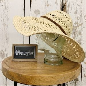 Accessories - Packable nTural fiber woven beach hat